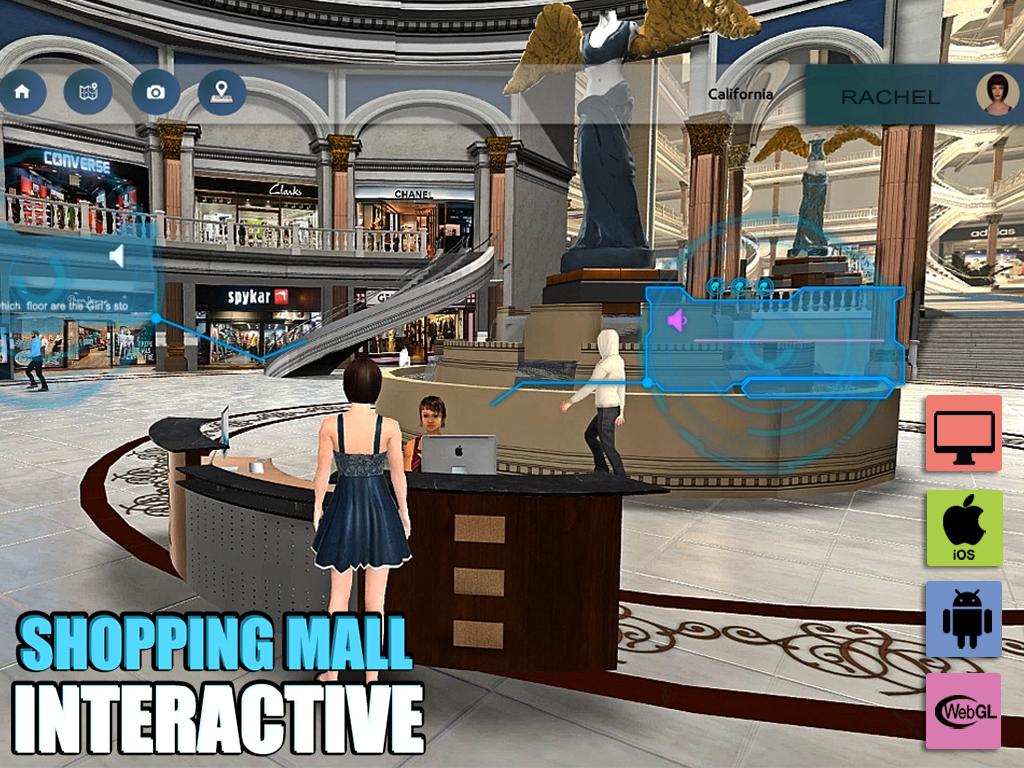 Yantram Studio - A Virtual Shopping Mall Application for Web, Mobile & Desktop by Yantram Virtual Reality Studio, Denton – Texas