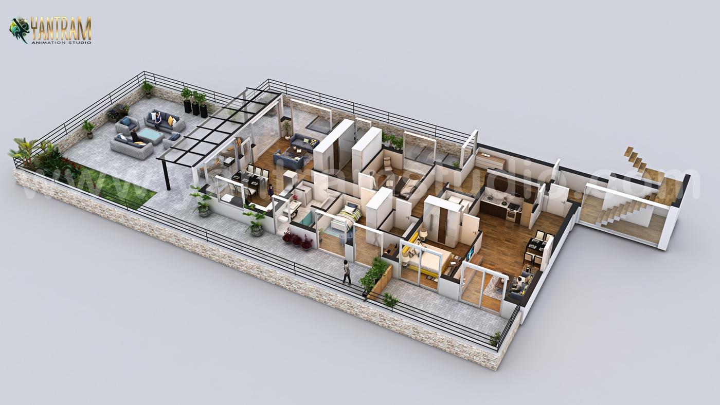 Yantram Studio - Best 3D Home Floor Plan Design by Yantram 3D Floor Plan Designer, Holladay –Utah