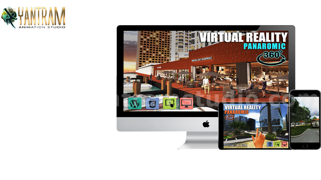 Yantram Studio - VR Real Time Application  and 360 Panoramic of Virtual Reality Developer by Architectural Visualization Studio - Houston, Texas