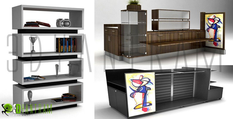 Yantram Studio - 3D Furniture Design Modeling of 3d Product Visualization Services by - Chicago, Illinois