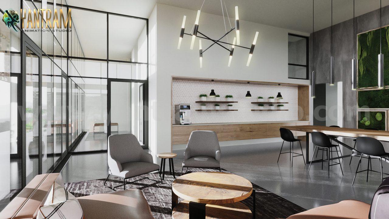 Yantram Studio - Modern 3D Interior Rendering Services by Architectural Visualisation Studio - San Antonio, Texas