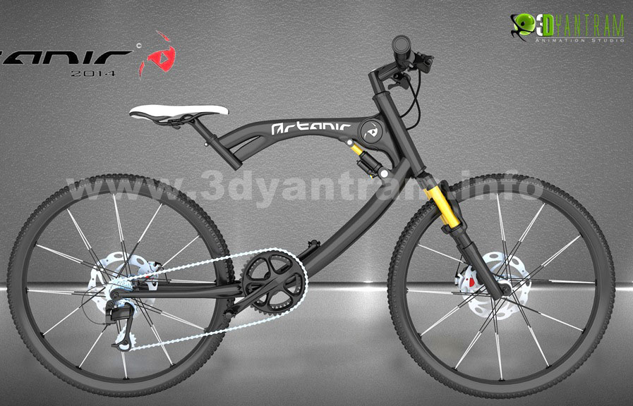 Yantram Studio - 3d bicycle Product Modelling By Architectural design studio, 3d Product visualization services, Indianapolis­ - Indiana