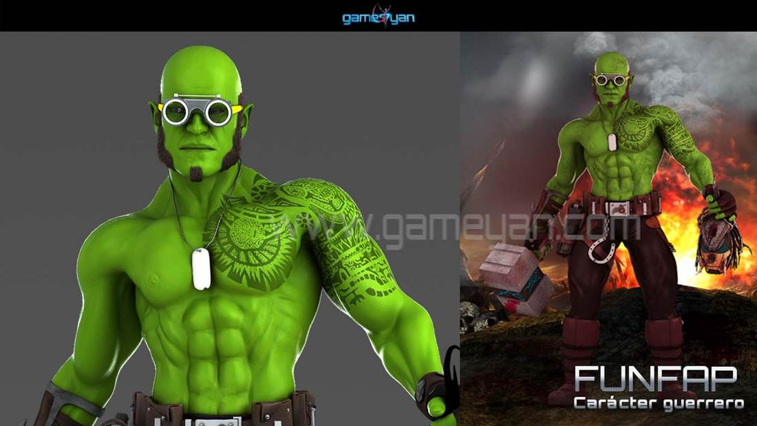 GameYan Studio - 3D Character ModelingGameYan Studio