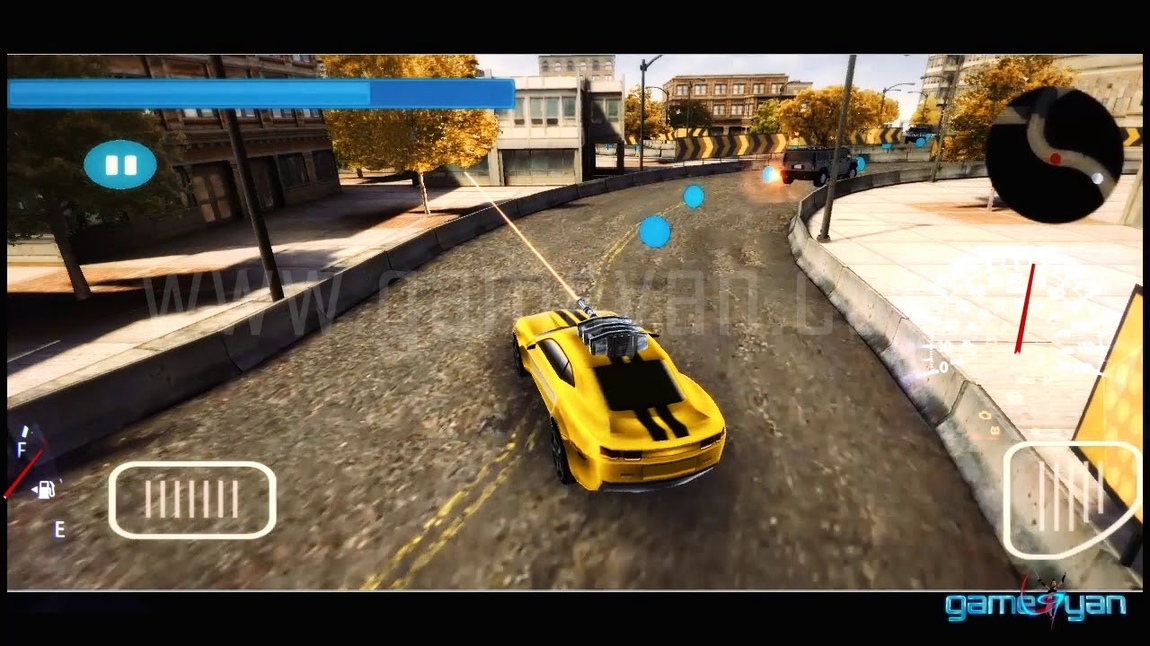GameYan Studio - Gameplay of Crazy Shooting Car - 3D Mobile Race Game