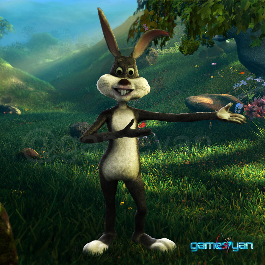 GameYan Studio - Bunny – 3D Cartoon Character Modeling by Gameyan Game Development Studio