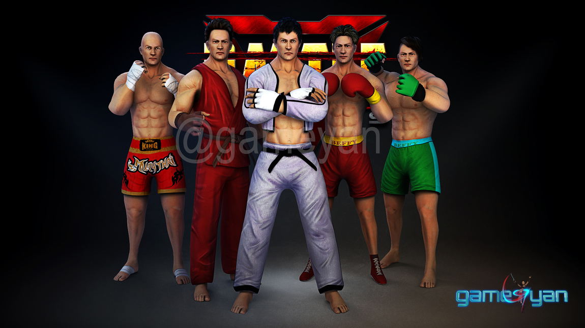 GameYan Studio - Fighting Game Character