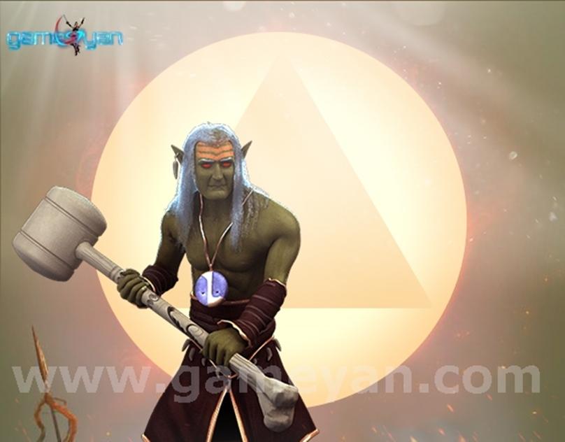 GameYan Studio - 3D Norkman - Character Cartoon Animation Companies By GameYan 3D Animation Studio