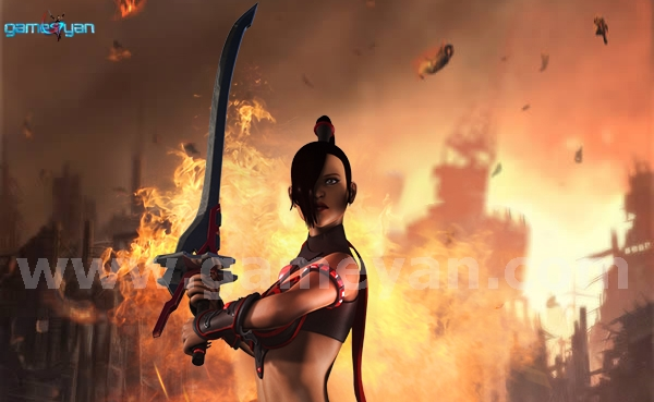GameYan Studio - EVE - Lady Warrior By GameYan 3D Production Animation Studio