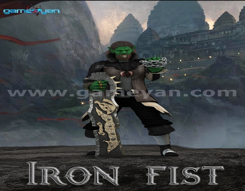 GameYan Studio - 3D Ironfist Warrior Creature Character Animation By GameYan Animation Movie Production Companies