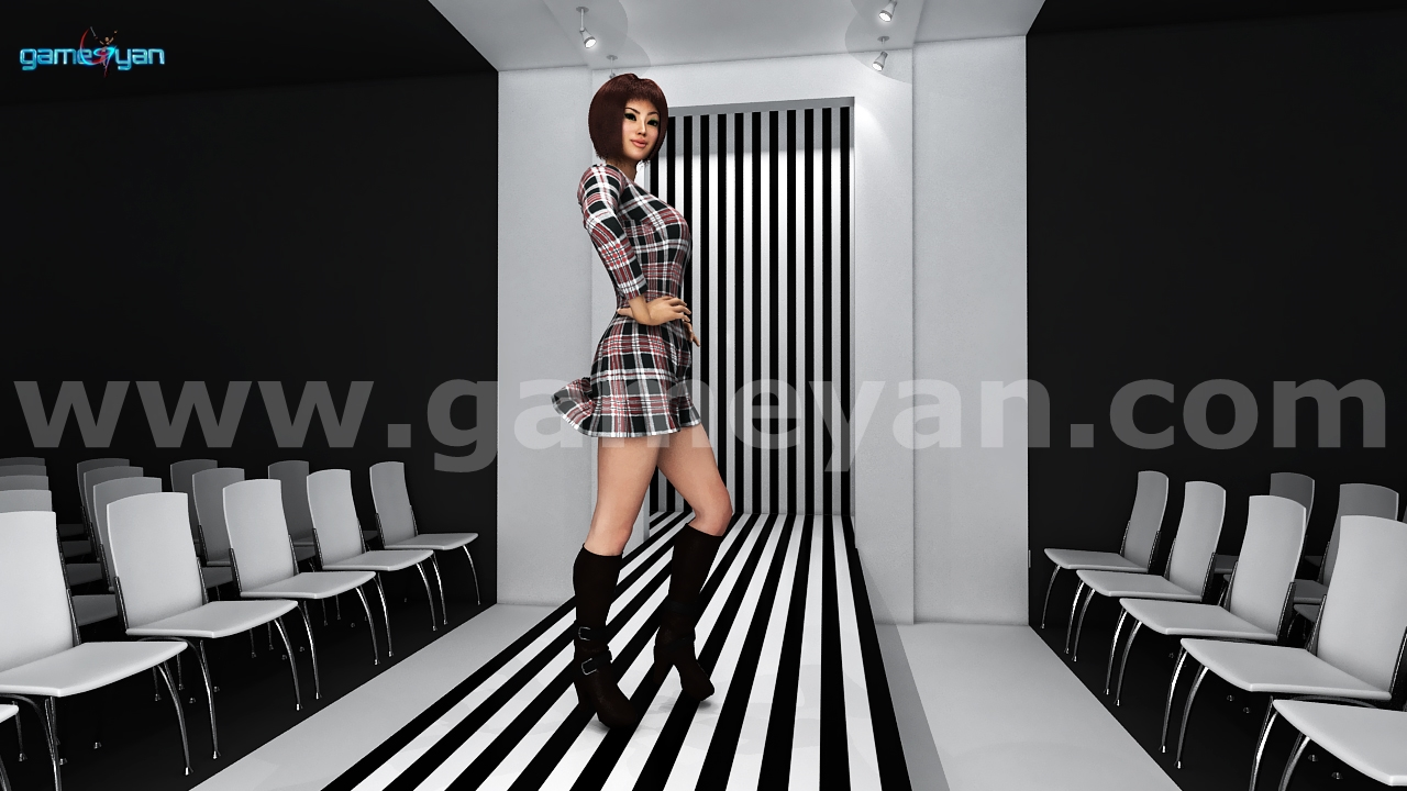 GameYan Studio - Fashion catwalk model animation by Animation Production Companies