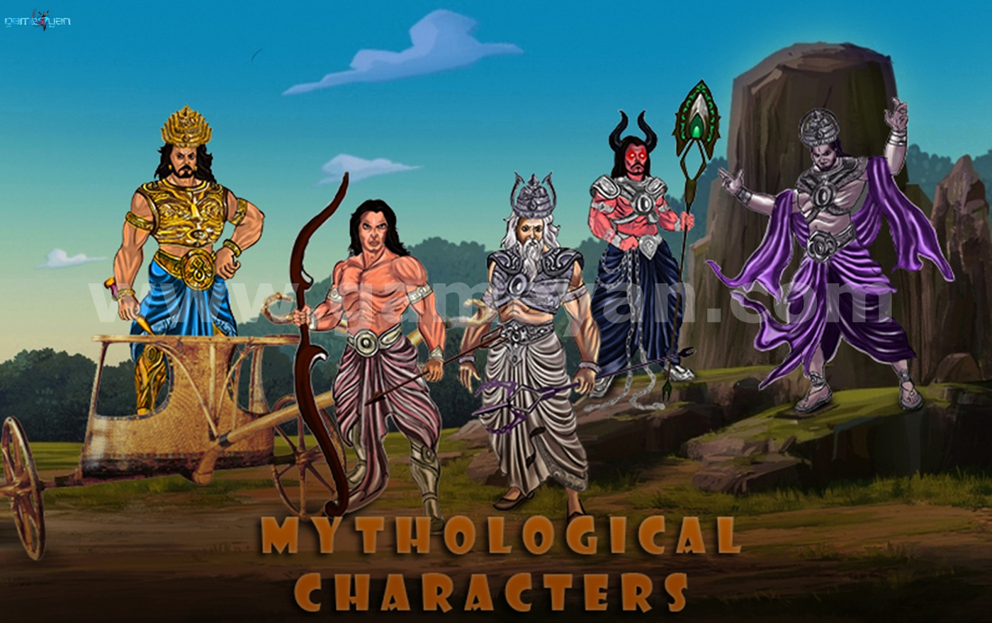 GameYan Studio - Mythological Characters Modeling Design by Animation Production Companies