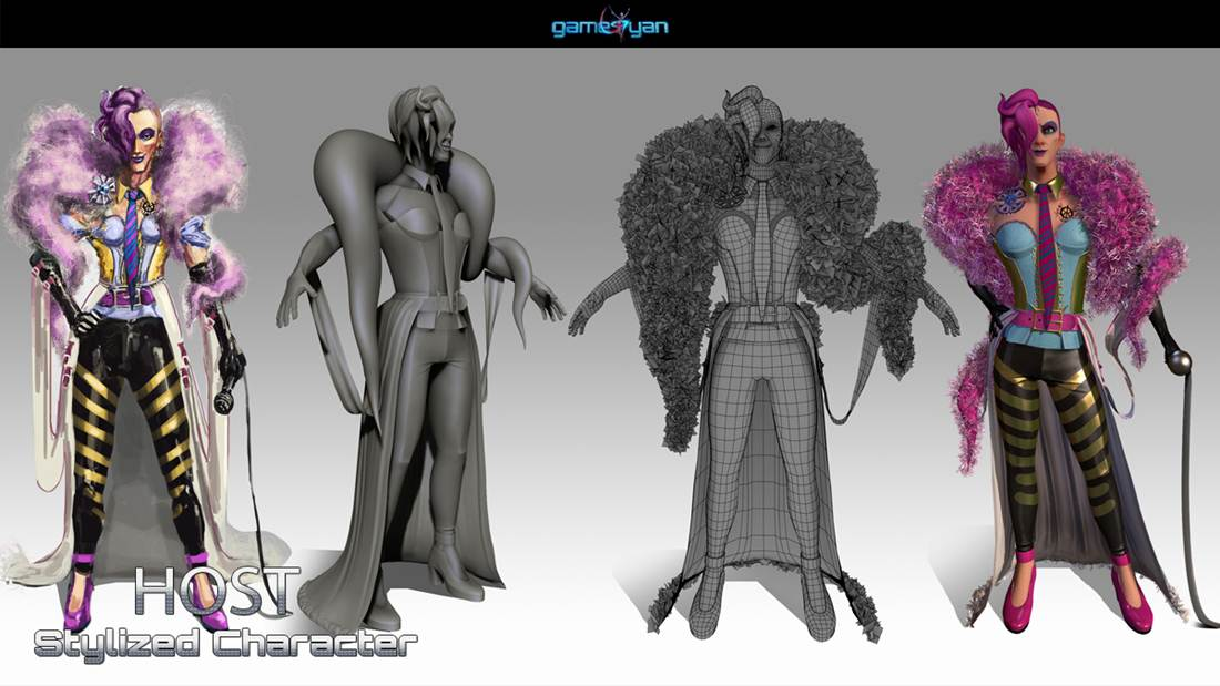 GameYan Studio - 3D Character Modeling  & low poly game character by  3D Game Art Studio