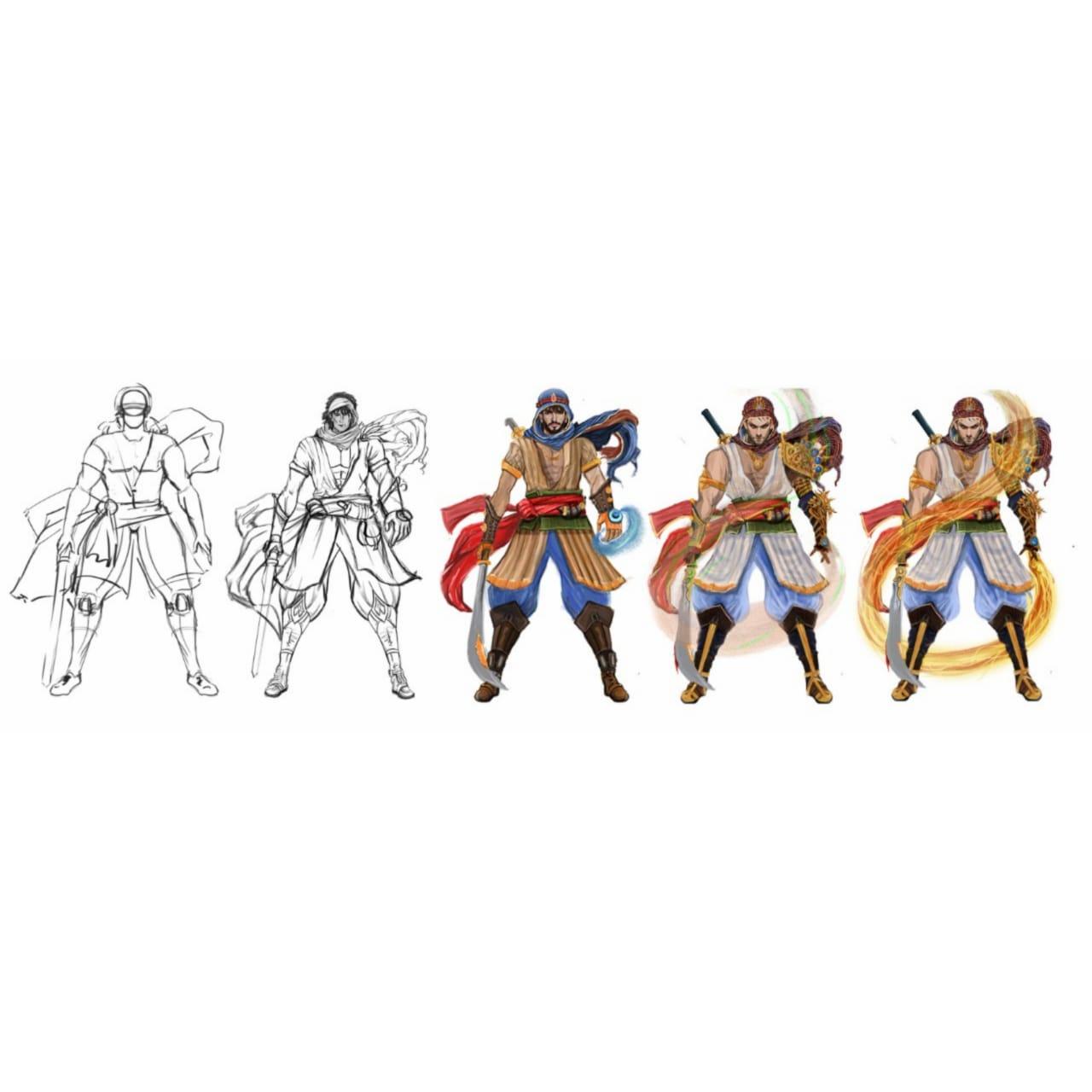 GameYan Studio - Character Concept Art Services by 3D Game Art Studio, Denton - Texas