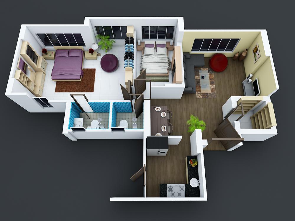 Ajay Chavhan - 3D Floorplan